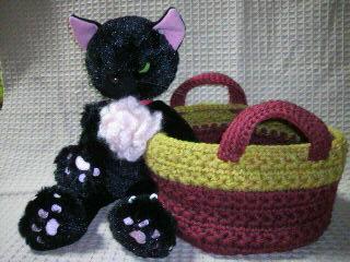 『小さなあみ編みのバッグ』