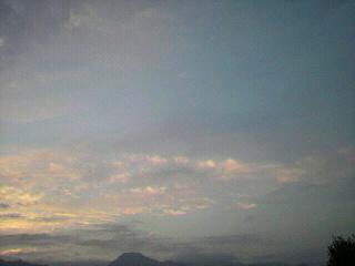 『ハンドウォーマー』①と『ほうずき』と夕暮れの安曇野